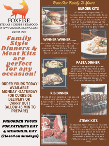 Family and steak kits